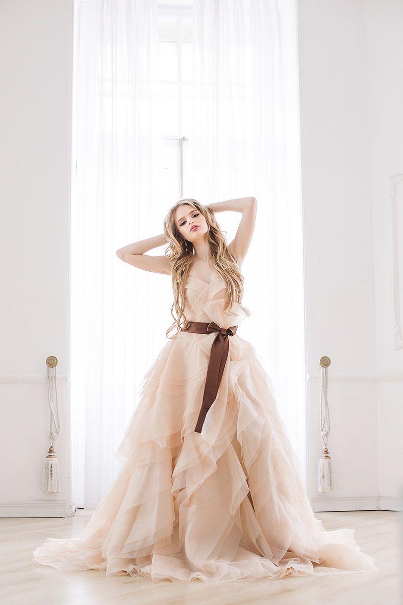 Свадебное платье Обрайд  - фото 5075919 Свадебный салон Весна