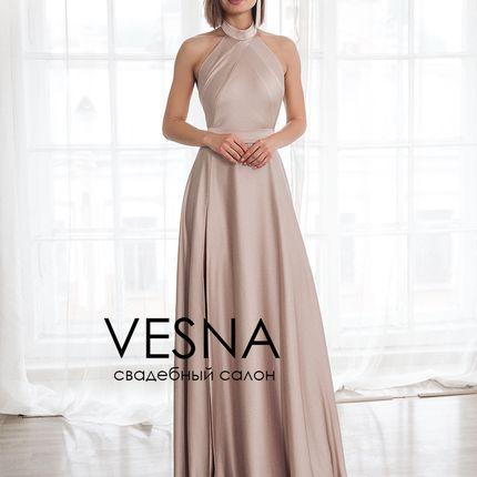 Платье Элисон Нюд
