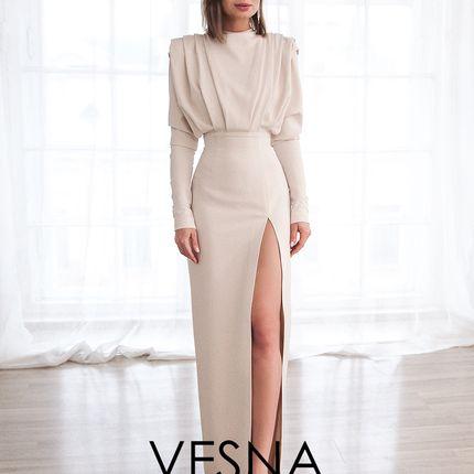 Платье Джина Нюд