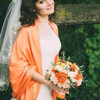 Букет невесты для Ксении) Флорист : Татьяна Голубева
