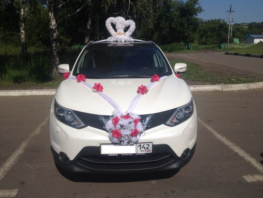 Аренда авто Nissan qashqai 2014
