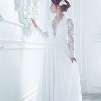 Откровенное и строгое платье