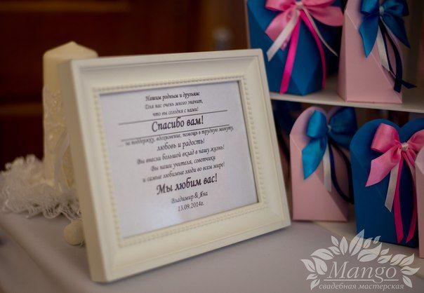 Какой подарок и к нему поздравление на свадьбу