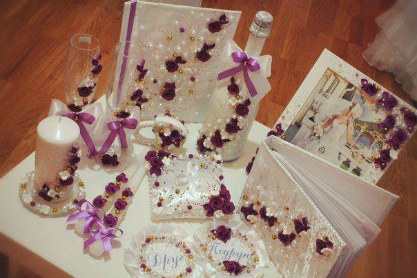 Аксессуары для свадьбы своими руками для