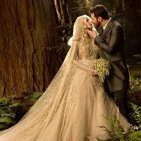 Свадьба Шона Паркера и Александры в сказочном стиле.