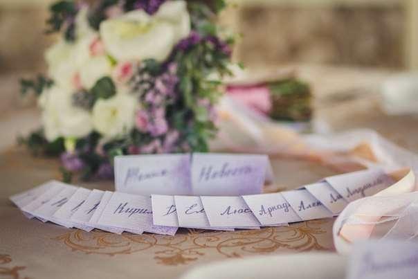 Свадебный декор и флористика в Актау. Посадочные карты. - фото 3145183 Студия декора Люси Пасмурной