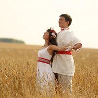 Свадьба в русско-народном стиле. Соорганизаторство.