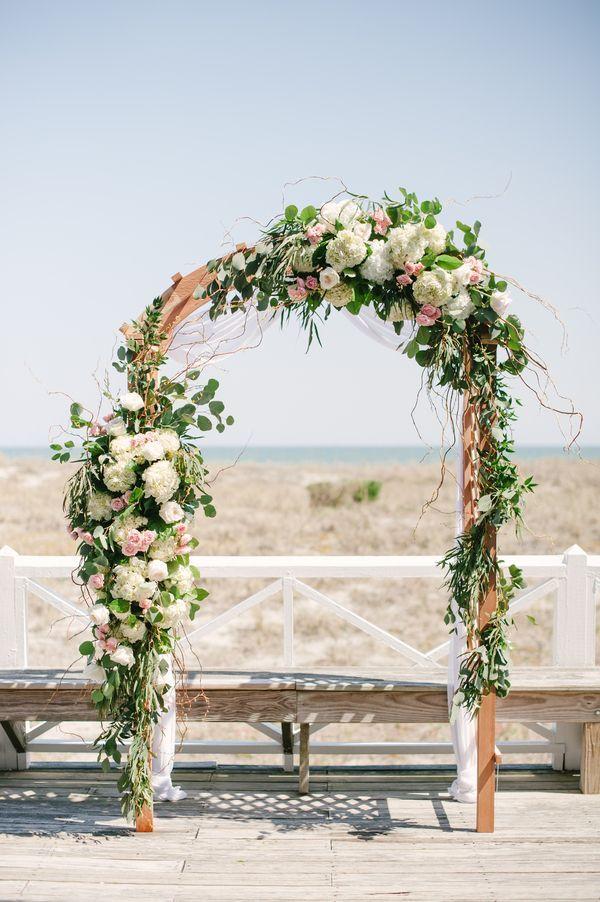 Арка на регистрации из цветов - фото 3174791 ЭкоDekor - декор свадеб