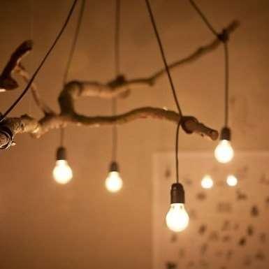 """Оригинальные гирлянды в стиле """"Рустик"""" из ламп - фото 3174815 ЭкоDekor - декор свадеб"""