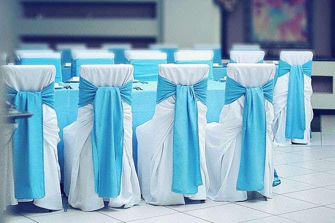 Банты на стулья для свадьбы в аренду - фото 3174817 ЭкоDekor - декор свадеб