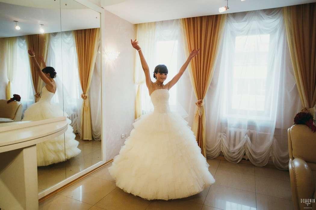 Нежное и оригинальное платье на невесте Ольге! - фото 14892630 Свадебный салон Юлии Савиной