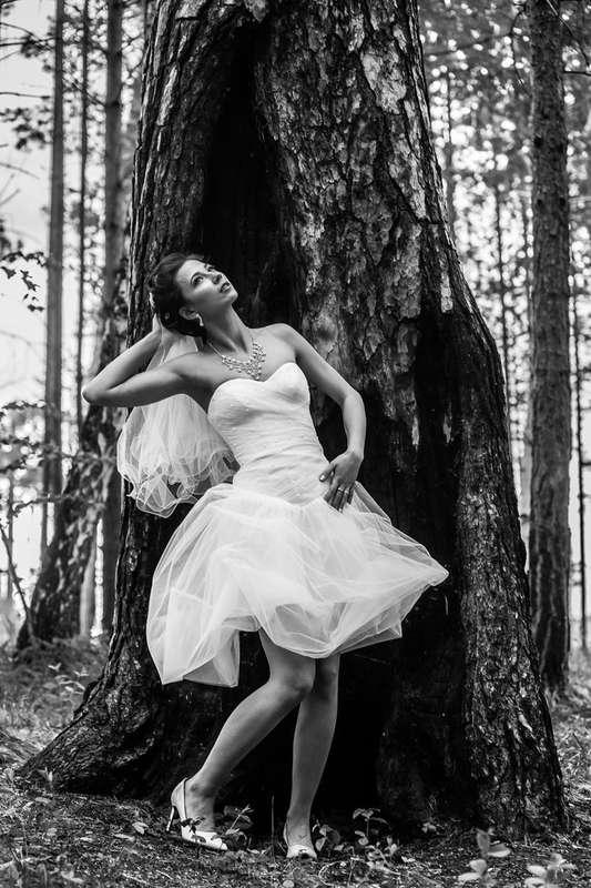 Коктейльный вариант платья на невесте Евгении! - фото 14892680 Свадебный салон Юлии Савиной
