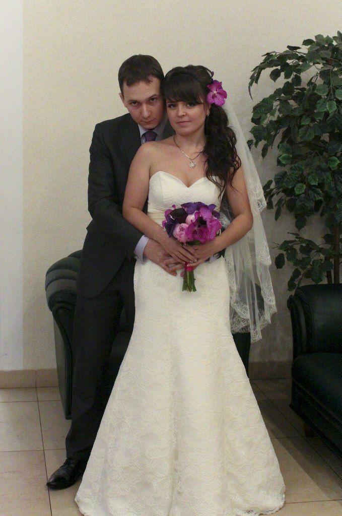 """Невеста Анастасия! Кружевная """"рыбка"""" всегда смотрится элегантно! - фото 14892704 Свадебный салон Юлии Савиной"""