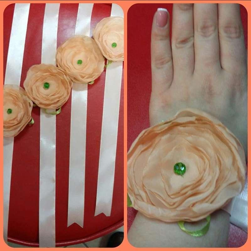 """в персиковом цвете на заказ - фото 15767472 Свадебный салон """" Примадонна"""""""