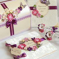 Аксессуары для фиолетовой свадьбы