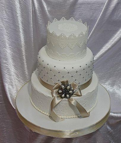 """Фото 3207339 в коллекции Мои фотографии - """"Торт с изюминкой"""" - свадебные торты"""
