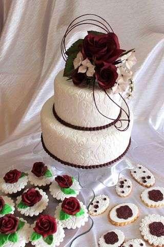 """Фото 3207359 в коллекции Мои фотографии - """"Торт с изюминкой"""" - свадебные торты"""