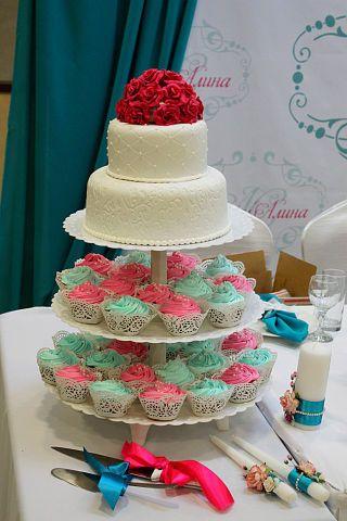 """Фото 3207365 в коллекции Мои фотографии - """"Торт с изюминкой"""" - свадебные торты"""