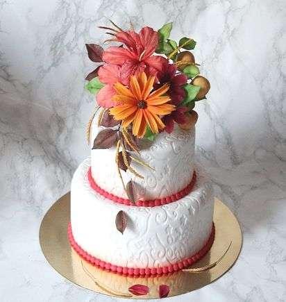 """Фото 3207367 в коллекции Мои фотографии - """"Торт с изюминкой"""" - свадебные торты"""
