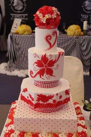 """Фото 3207369 в коллекции Мои фотографии - """"Торт с изюминкой"""" - свадебные торты"""