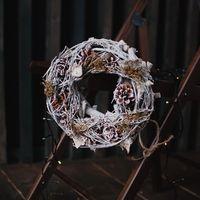 Натуральный декор, венки из веток, Скандинавия - простота и и природа