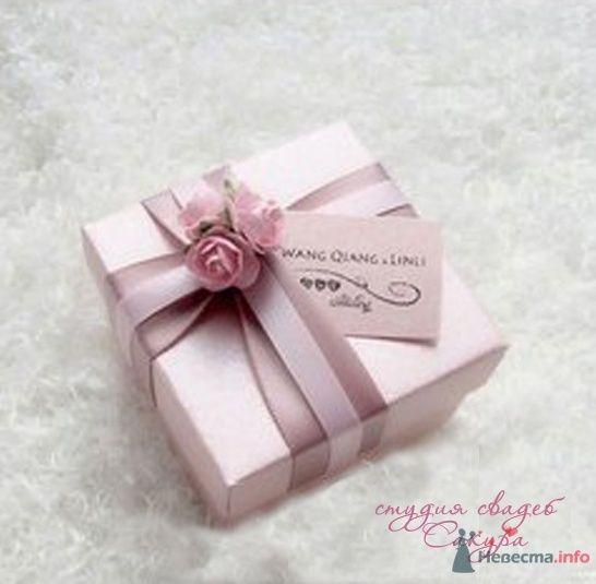 """Розовая коробочка - фото 43585 Студии """"Сакура"""" - свадебные аксессуары"""