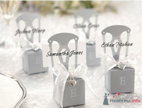 """Серебряные стулья - фото 43588 Студии """"Сакура"""" - свадебные аксессуары"""