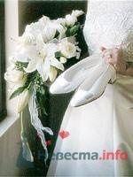 букет белых лилий - фото 19261 Невеста01