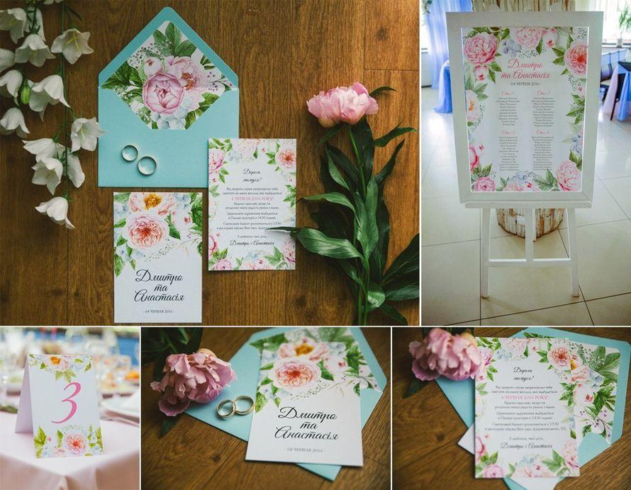 """Полиграфия для свадебного агентства """"Фонтан эмоций""""  - фото 13254522 Пригласительные от Style wedding"""