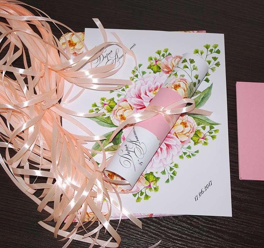 Для Дарьи и Анатолия! - фото 13805204 Пригласительные от Style wedding