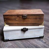 Деревянные шкатулочки-фотобоксы
