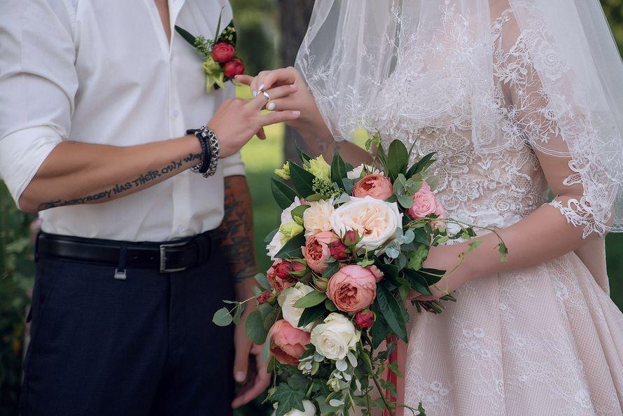 """Фото 15804558 в коллекции Выездная регистрации Насти и Дани - """"Wedding аrt"""" - мастерская флористики и декора"""