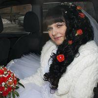 Невероятное количество кудрей в свадебной прическе. Невеста Юлия и по совместительству мой друг. г.Курск