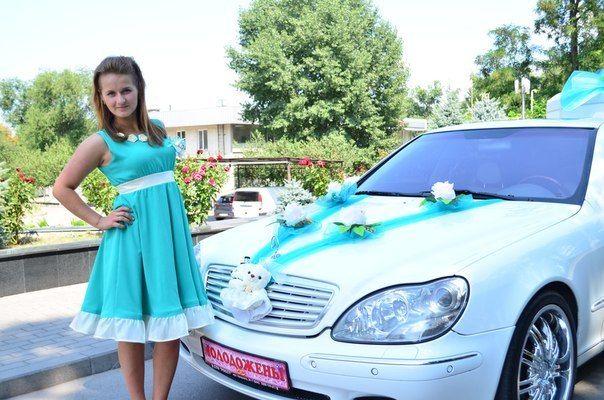 Бирюзовые оттенки - фото 3287705 Весільні передзвони - аксессуары