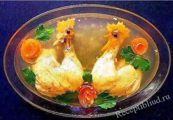 Как приготовить красивое блюдо из овощей