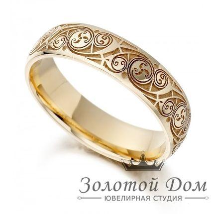 Обручальное кольцо Кельтское