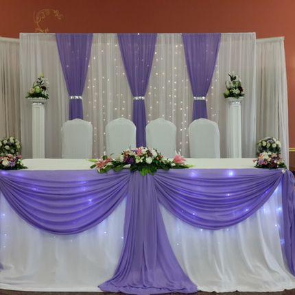 Арка ширма на свадьбу из ткани Луганск