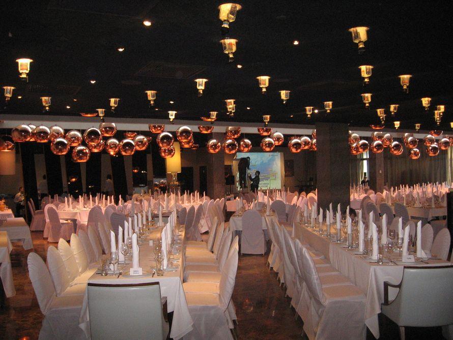 Ресторан, рассадка на 200 человек. - фото 3352505 Отель Mamaison Pokrovka 5*