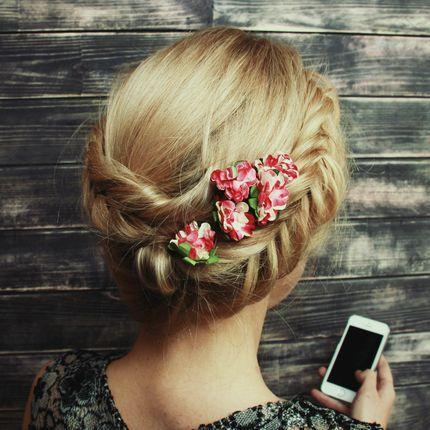 Причёски-косы для гостей