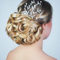 Свадебная прическа и макияж ☎ ͟Tel.: +7(911)811-63-66