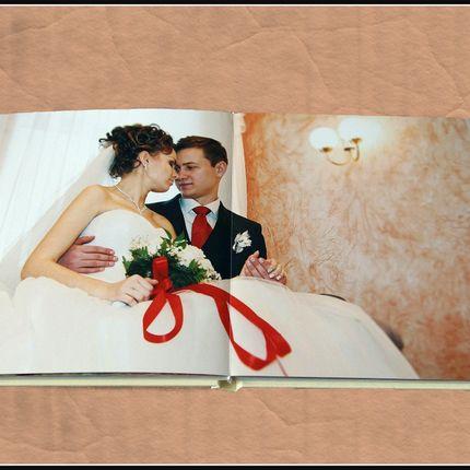 Дизайн и печать свадебных фотокниг