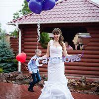 Невеста прощается со своей девичьей фамилией, город Бор, ресторан Адмирал, ведущая Катрин, фото: Наталья Севастьянова