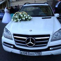 Аренда белоснежного Mercedes GL