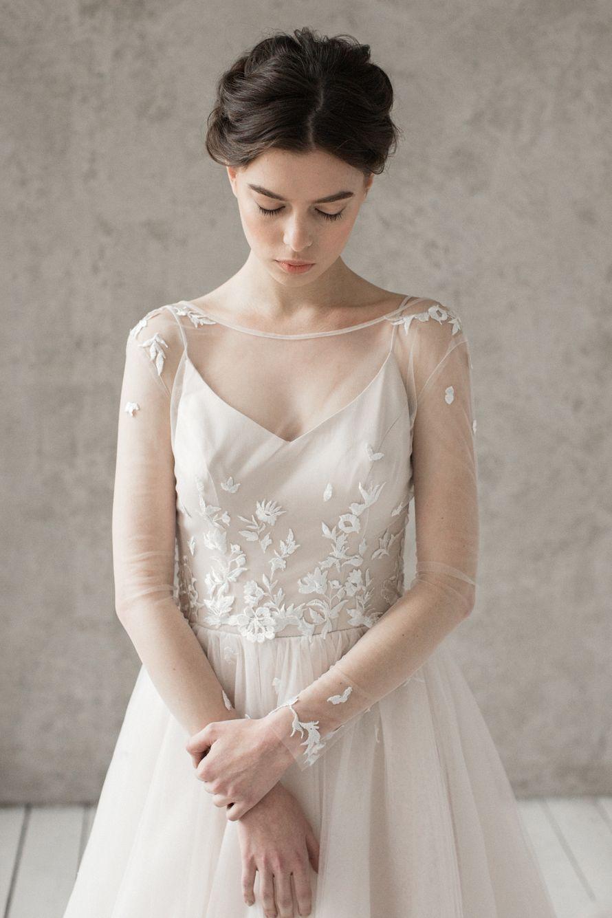 Свадебное платье «Эмилия» Цена: 59 900 ₽ - фото 16449204 Piondress - свадебная мастерская платьев