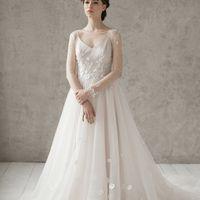Больше фото:   Свадебное платье «Эмилия» Цена: 59 900 ₽  Возможные цвета: - белый - молочный - нежно-розовый - жемчужно-кофейный - припыленно-сиреневый - припыленно-серый  При отсутствии в наличии нужного размера это платье может быть выполнено в размерах