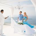 свадьба на площадке Santorini Gem