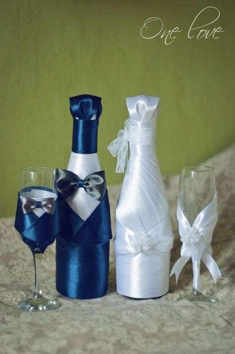 Бутылки для свадьбы своими руками для жениха