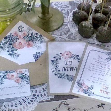 Свадебная полиграфия, номерки столов, схема рассадки