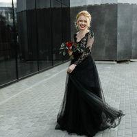 Черное свадебное платье! Продано! Возможно изготовление под заказ, ориентировочная стоимость подобного 27-28 тыс (работа+материалы)