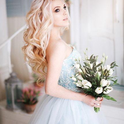 Прическа для невесты 1,5-2 часа